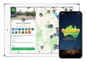 Camps Australia Wide App