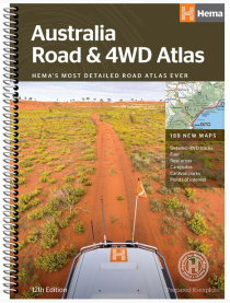 Hema Road & 4WD Atlas