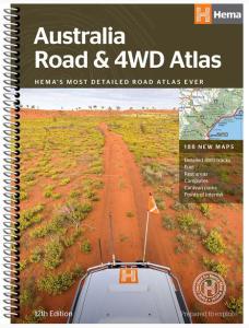 Hema Road & 4WD Atlas