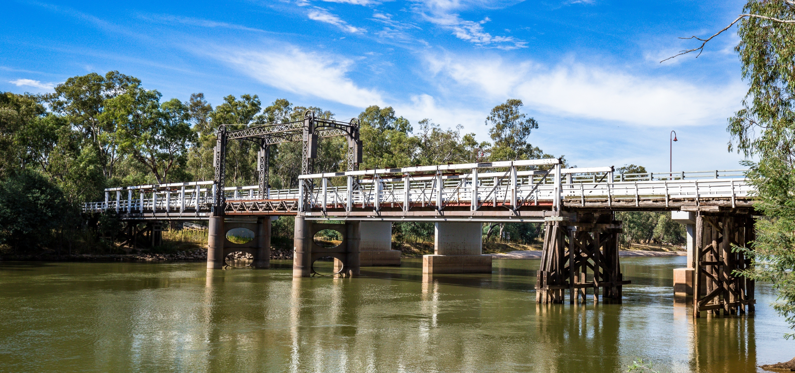 Tocumwal Bridge Murray River
