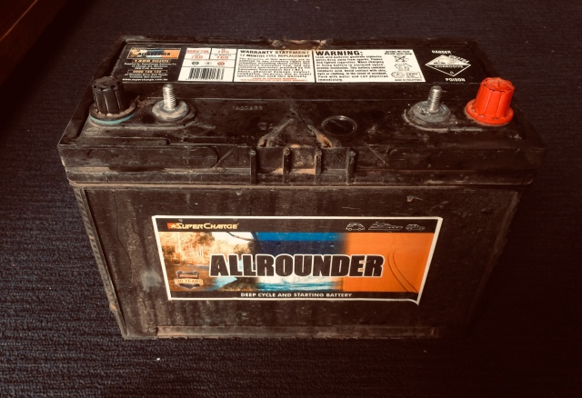 Supercharge Allrounder battery