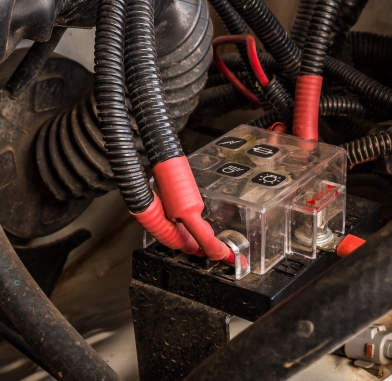 Fuse panel fuses